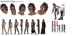 Beast Master Character Sheet by kmccaigue