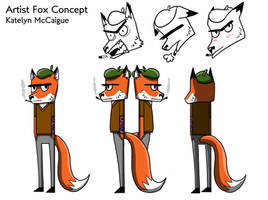 Art Fox Character Sheet