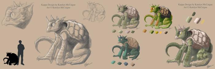 Kappa Full Creature Sheet