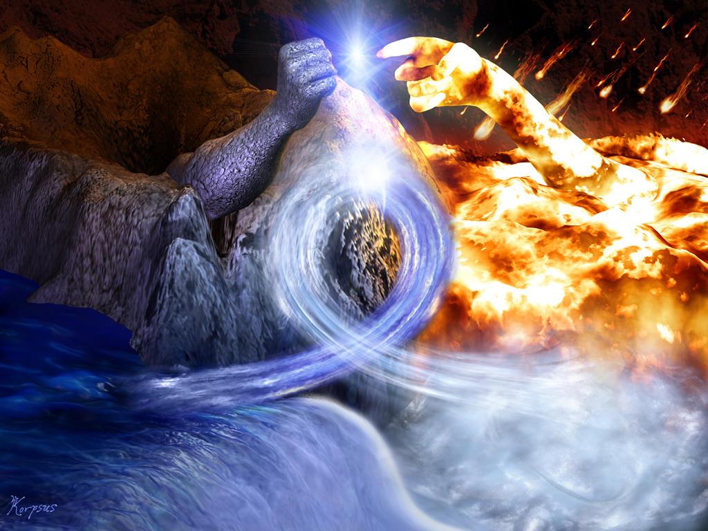 Five Elements Art : The elements by korpsus on deviantart
