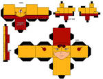 Young Justice Kid Flash Cubee