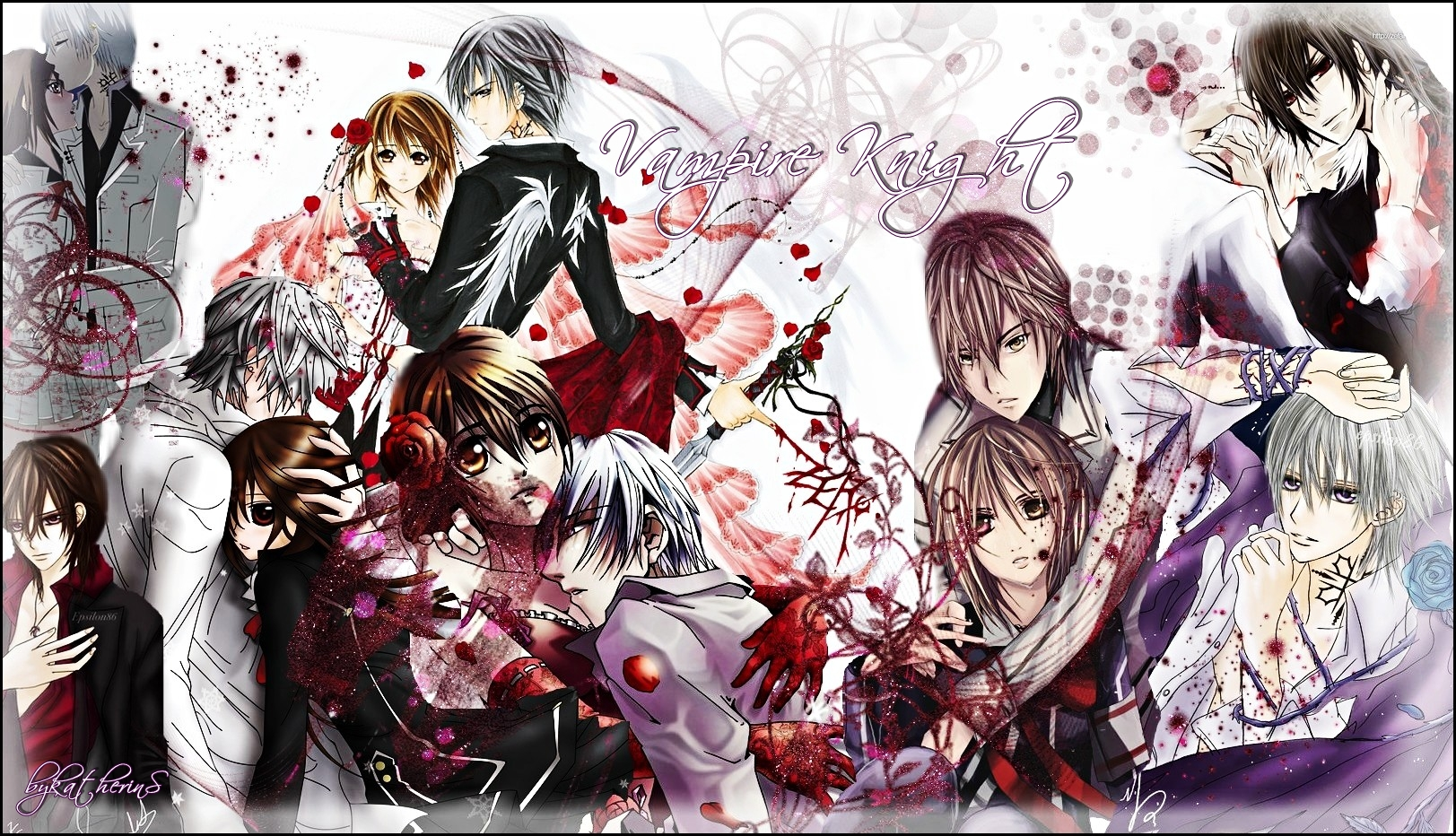 Vampire knight wallpaper by katherins on deviantart - Vampire knight anime wallpaper ...