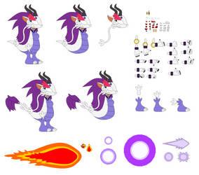 Amethyst the Gem Dragon 2 Builder by TreeofLife911