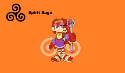 The Spirit Sage - Zyanya by TreeofLife911