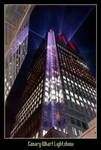 Canary Wharf Lightshow