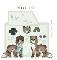 Grayprototype by countinq-crows