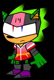 Rosie The Hedgehog/Cyborg by ChoccoSaiyan