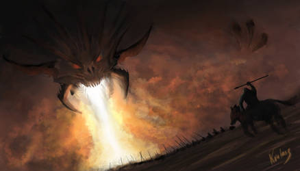 Dragon's Breath Painting