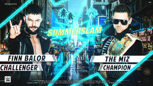 SummerSlam Custom Match Card V3 By: KalistOMG
