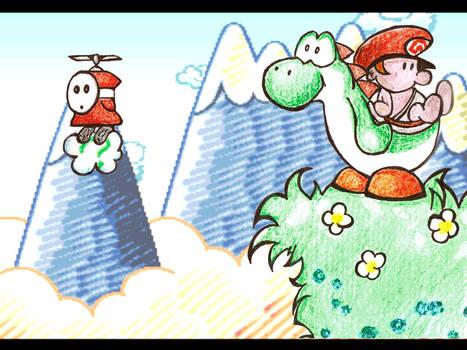 Yoshi's Island - Fan Art