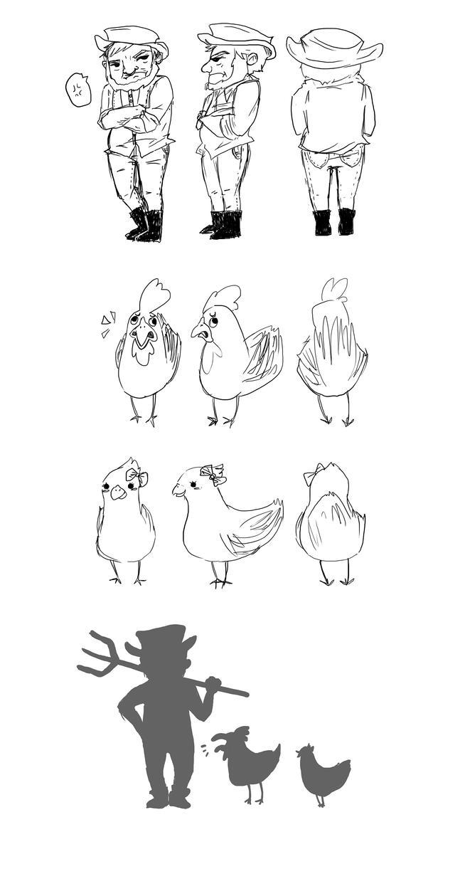 Character Design Lineup : Character design turnarounds lineup by arissa hayashi