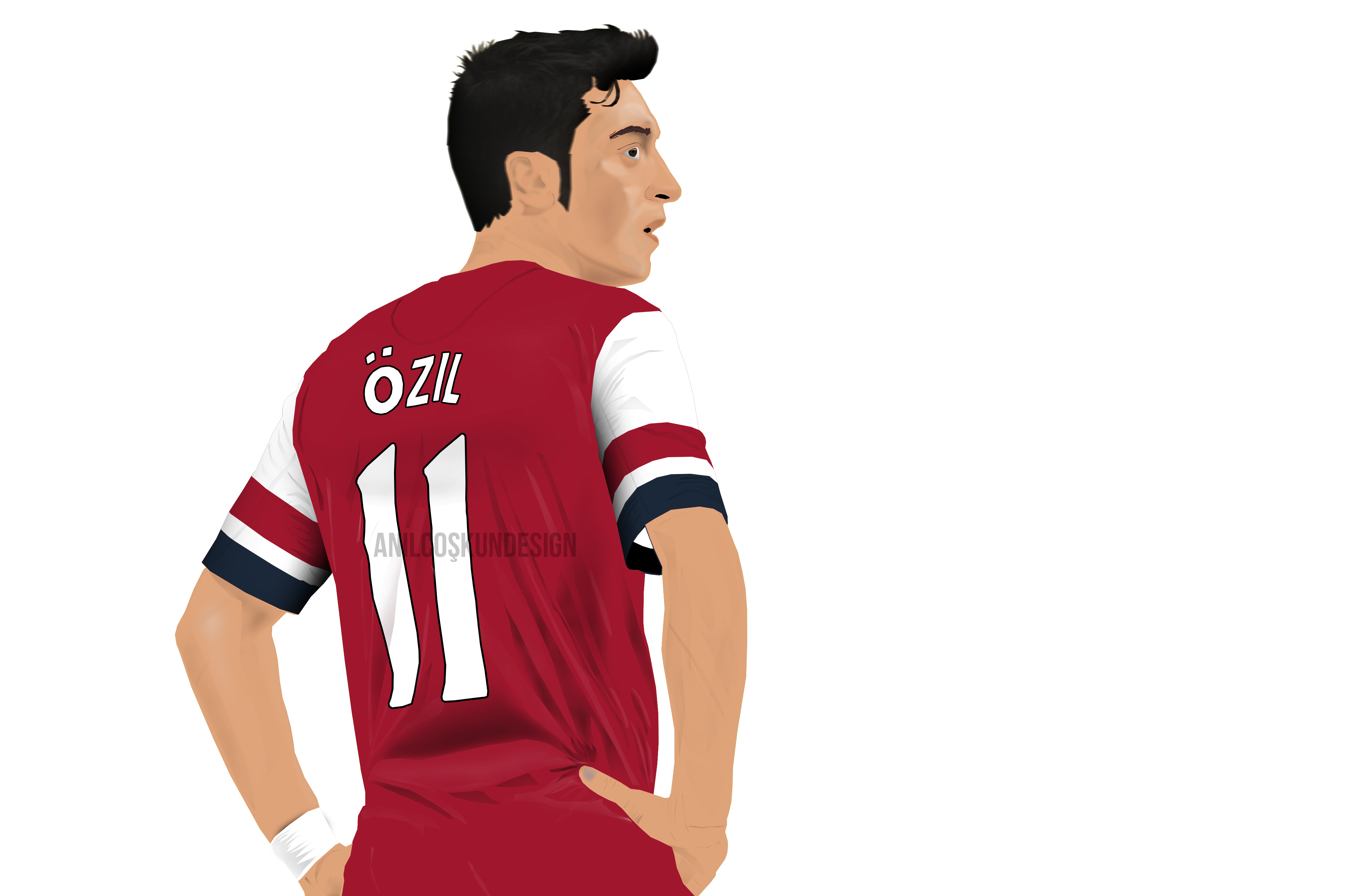 Mesut Ozil VECTOR PNG ! By A2nil On DeviantArt