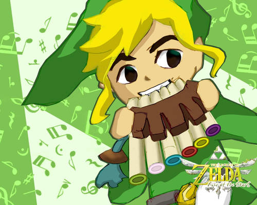 Link and the Spirit Flute