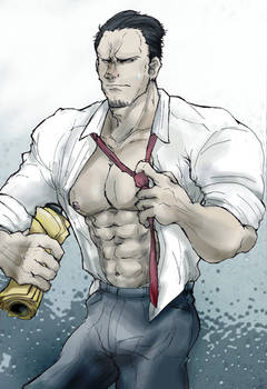 Unbuttoned Senpai