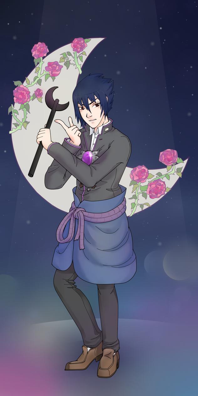 Sasuke Moon by Nikczemniczek