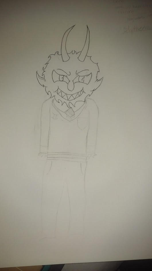 The Devil ( Cuphead) WIP