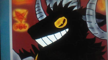 The Devil ( Cuphead) [Goat form]