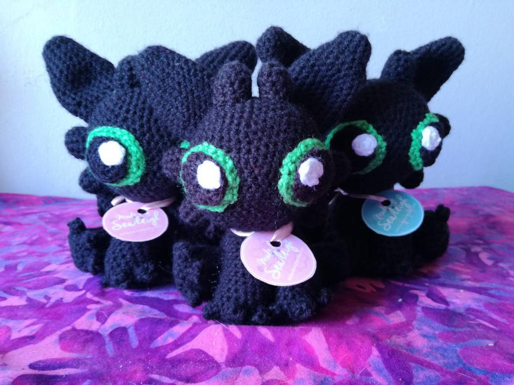 Toothless Squad Amigurumi by sewleigh on DeviantArt