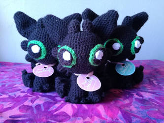 29745a843ec sewleigh 5 4 Toothless Squad Amigurumi by sewleigh