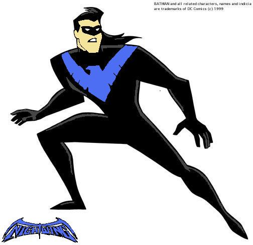 dc comics nightwing coloring pages - photo#35