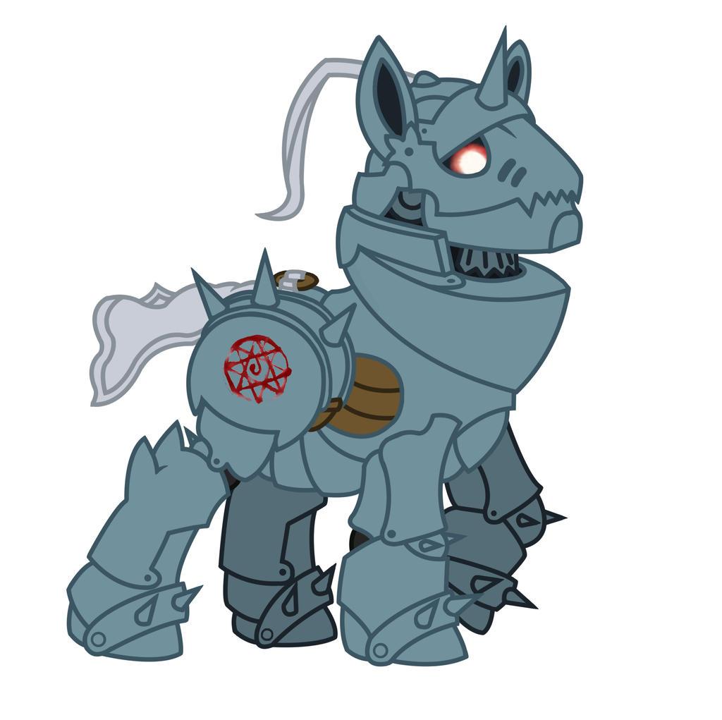 Alphonse Pony by LemonNinja