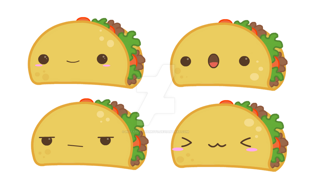 cute taco drawings wwwimgkidcom the image kid has it