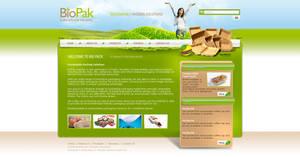 Bio Pak Website by zaib