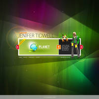 Jenifer Tidwell - Web Design by zaib
