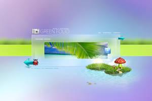Green Folio -  Wed Design