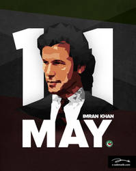 PTI Election Day poster by zaib