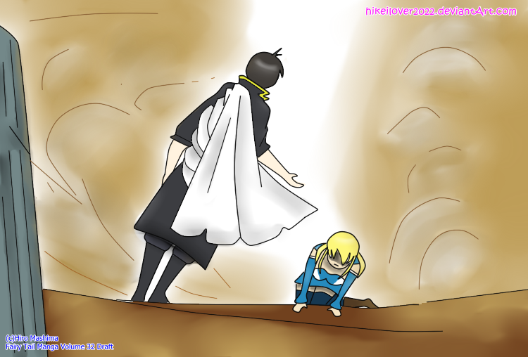 Lucy meets Zeref (Spoiler Draft) by hikeilover2022