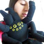 cuddly tarantula by WeirdBugLady