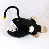 Angler fish by WeirdBugLady