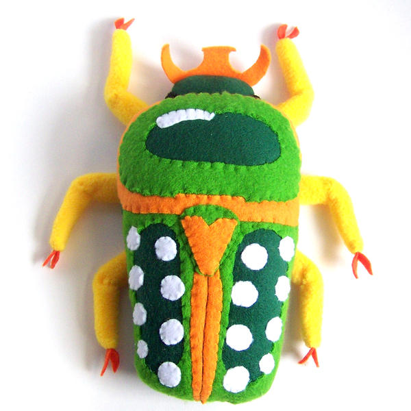 Scarab beetle by WeirdBugLady