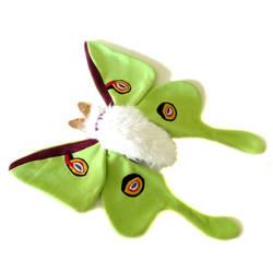 Luna moth plush