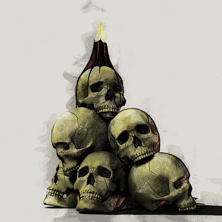Skull Pile 04 by arnieSpace