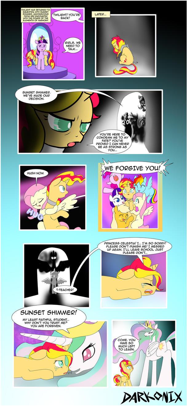 Equestria Girls Alternate Ending by Darkonix