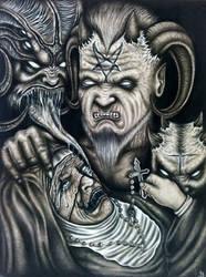 Demonophobia (fear of demons) by herrerabrandon60