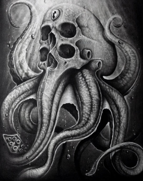 octoskull by herrerabrandon60 on deviantart
