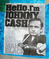 Johnny Cash Poster by 2canart
