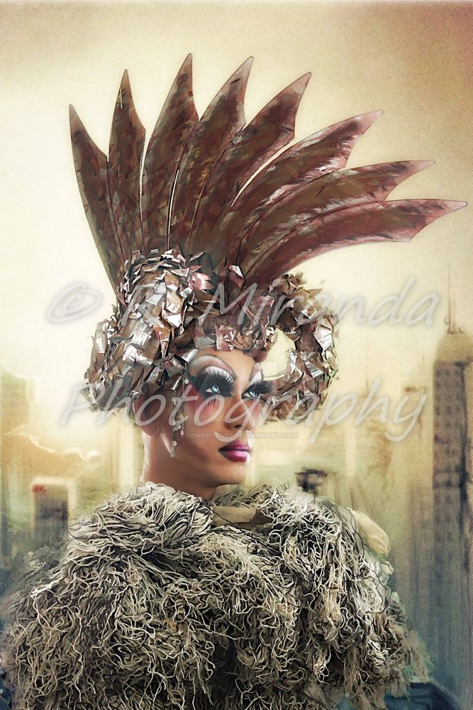 glamorous drag queen by Robworld480