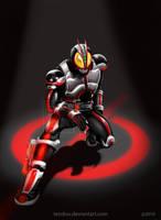 Kamen Rider FAIZ by andicahyow
