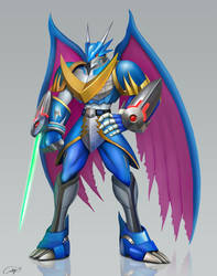 UlforceV-dramon by andicahyow