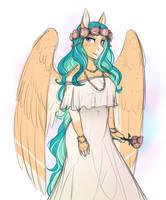 Willow's Wedding Dress by AskBubbleLee