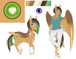 Kiwi Breeze ref sheet 2019 by AskBubbleLee