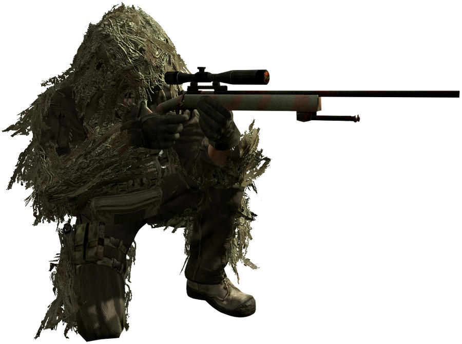 call_of_duty_4___sniper_cut_out_by_pokee