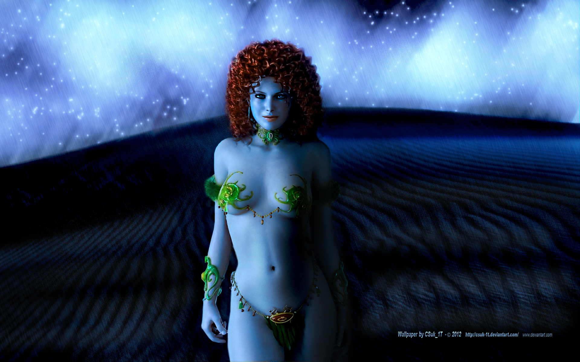 BabeWorld#6:ARABIAN NIGHT'S:The Sultan's Daughter. by CSuk-1T