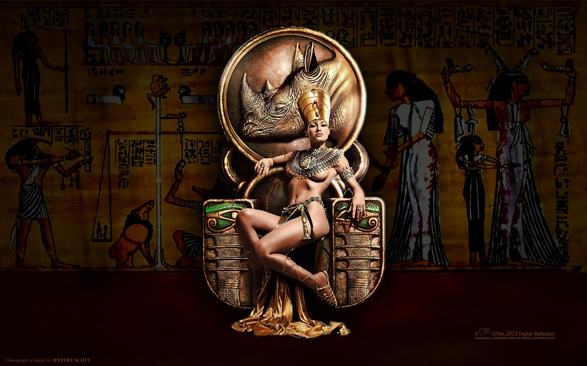 queen egyptian art wallpaper - photo #4