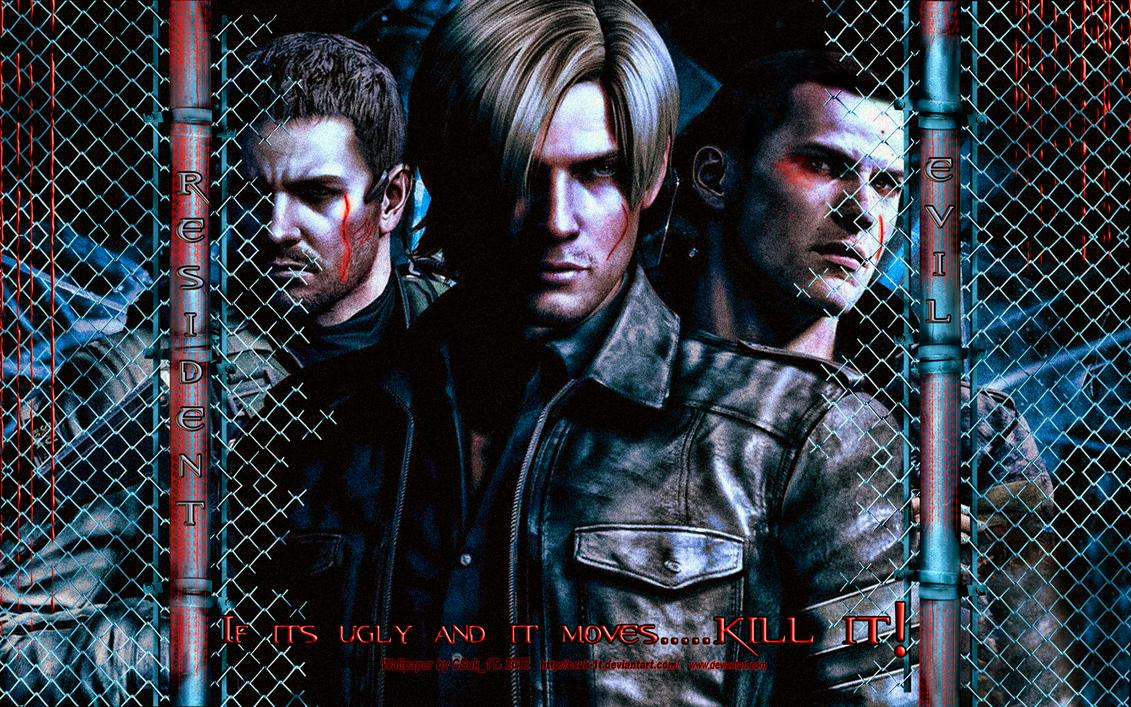 RESIDENT EVIL:Leon...Kill It (1b) by CSuk-1T