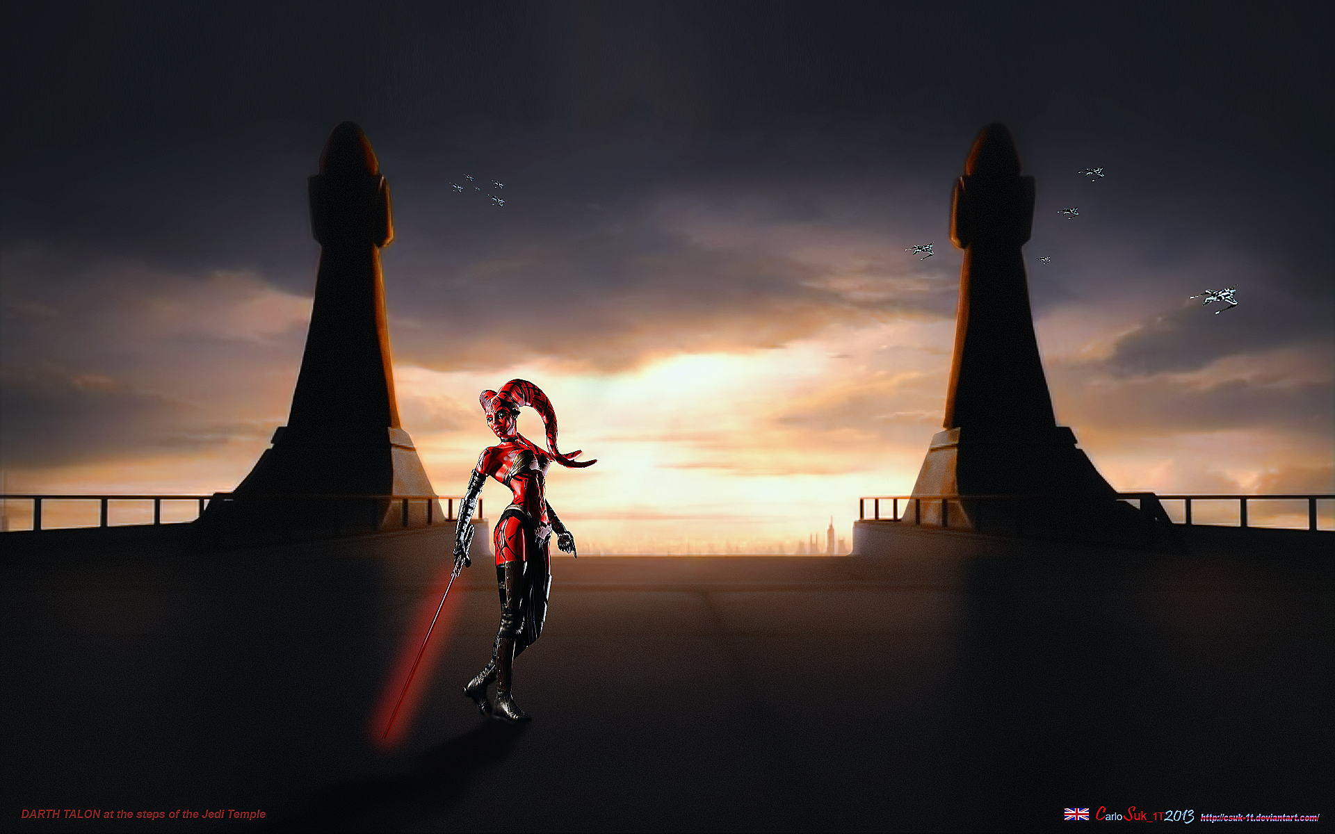 Star Wars Alternate Universe Darth Talon By Csuk 1t On Deviantart